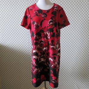 TOMMY HILFIGER Floral Print Short Sleeve Dress 14
